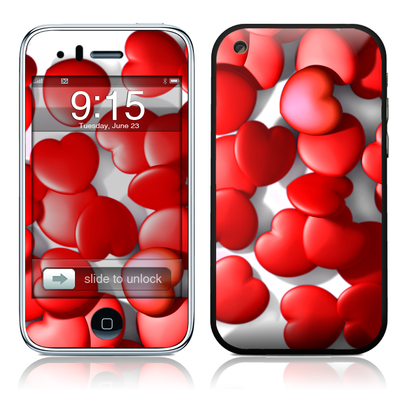 Sweet Heart iPhone 3GS Skin