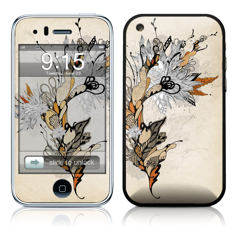 Sweet Floral iPhone 3GS Skin
