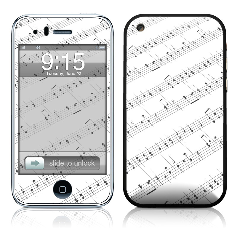 Symphonic iPhone 3GS Skin