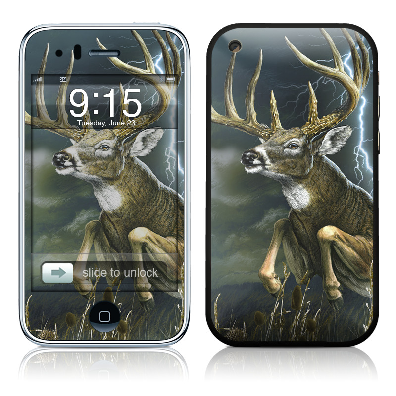 Thunder Buck iPhone 3GS Skin