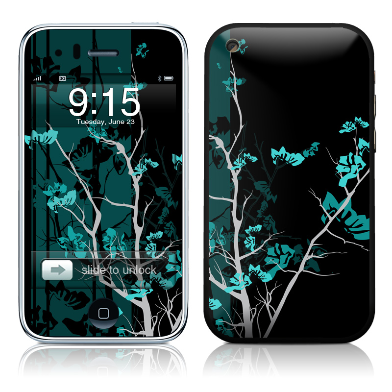 Aqua Tranquility iPhone 3GS Skin