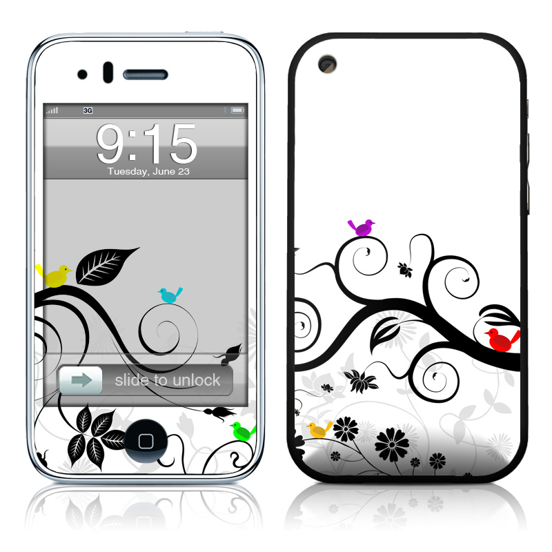 Tweet Light iPhone 3GS Skin
