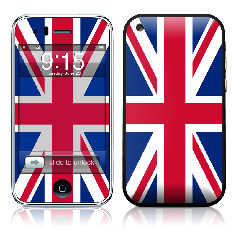 Union Jack iPhone 3GS Skin