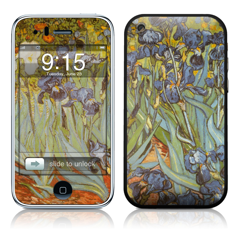 Van Gogh - Irises iPhone 3GS Skin
