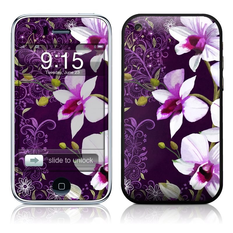 Violet Worlds iPhone 3GS Skin