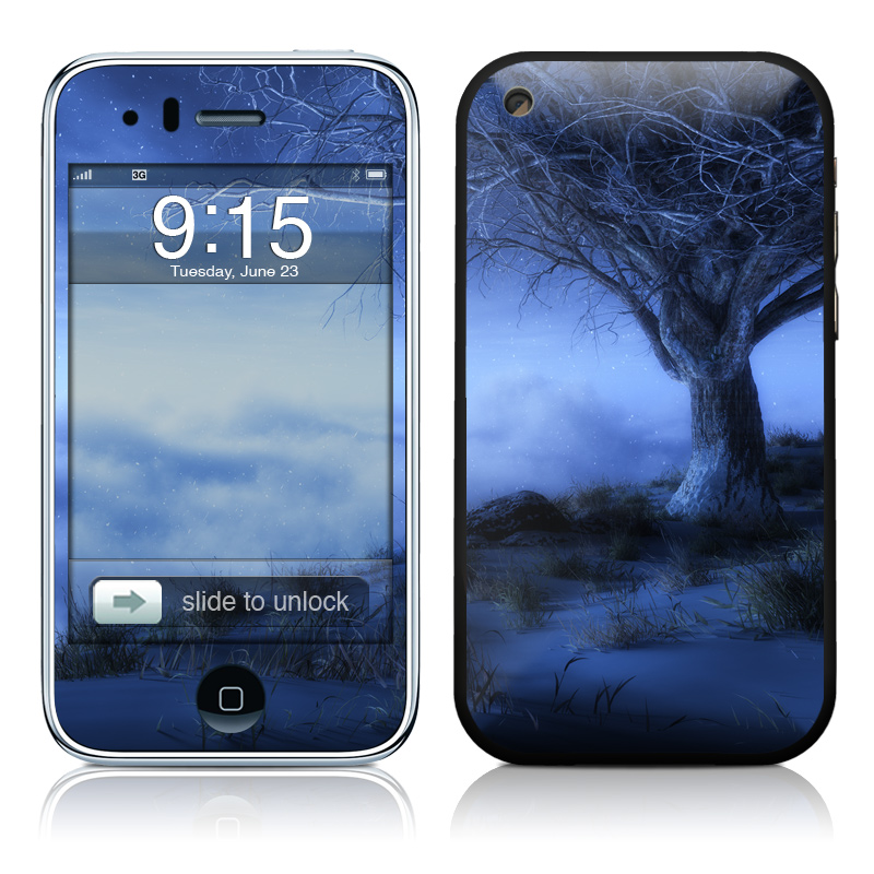 World's Edge Winter iPhone 3GS Skin