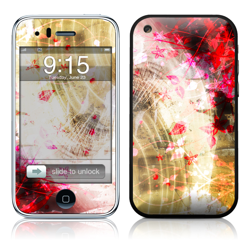 Woodflower iPhone 3GS Skin