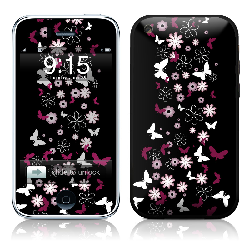 Whimsical iPhone 3GS Skin