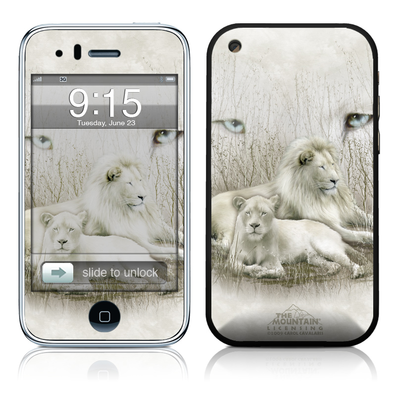White Lion iPhone 3GS Skin