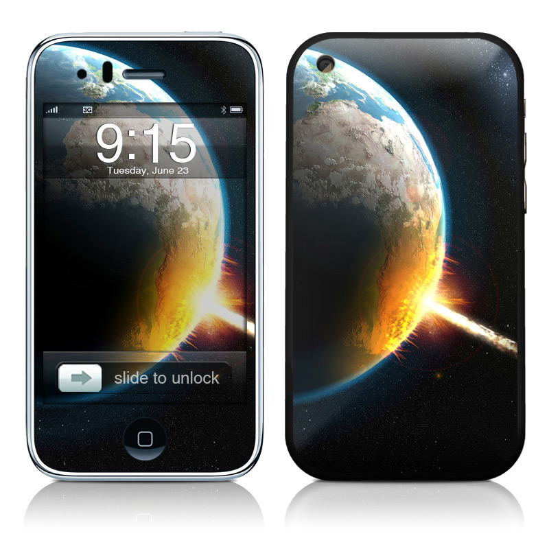 World Killer iPhone 3GS Skin