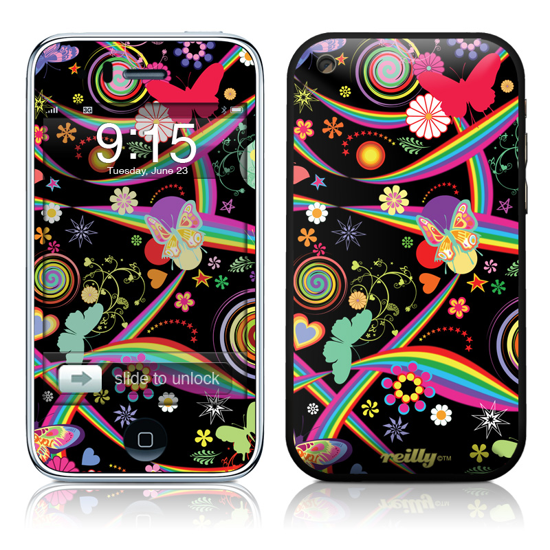 Wonderland iPhone 3GS Skin