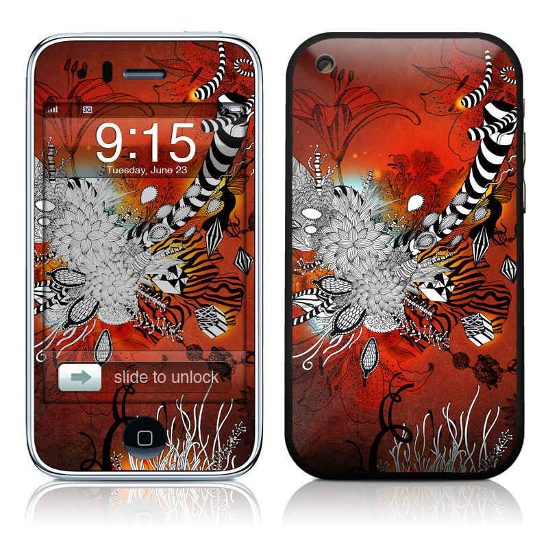 Wild Lilly iPhone 3GS Skin