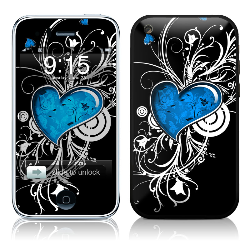 Your Heart iPhone 3GS Skin