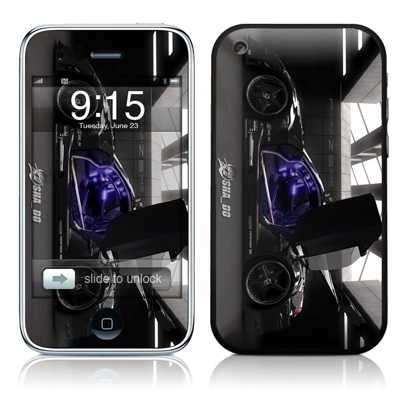 Z33 Dark iPhone 3GS Skin