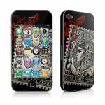 Black Penny iPhone 4 Skin