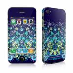Blue Garden iPhone 4 Skin