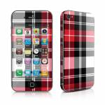 Red Plaid iPhone 4 Skin