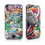 Robot Beatdown iPhone 4 Skin