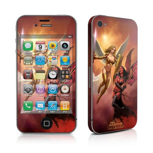 Angel vs Demon iPhone 4s Skin