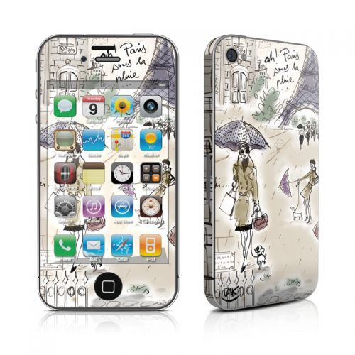 Ah Paris iPhone 4s Skin