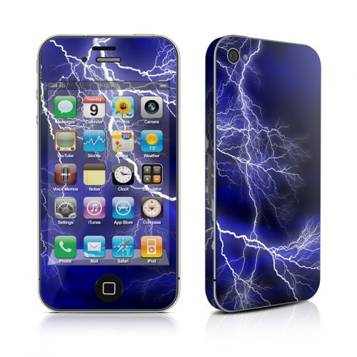 Apocalypse Blue iPhone 4s Skin