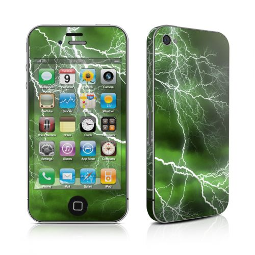 Apocalypse Green iPhone 4s Skin