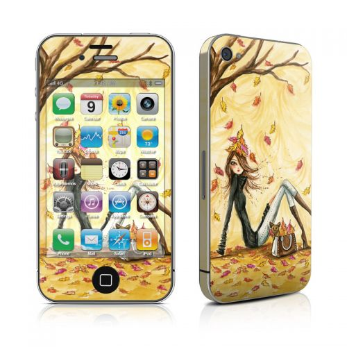 Autumn Leaves iPhone 4s Skin