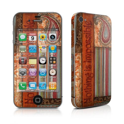Be Inspired iPhone 4s Skin
