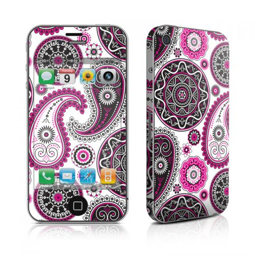 Boho Girl Paisley iPhone 4s Skin