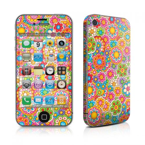 Bright Ditzy iPhone 4s Skin