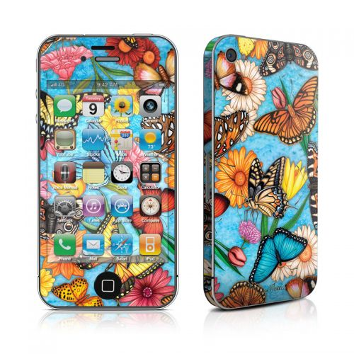 Butterfly Land iPhone 4s Skin
