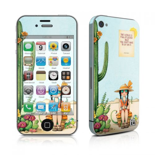Cactus iPhone 4s Skin