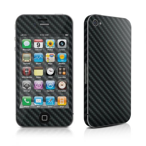 Carbon Fiber iPhone 4s Skin