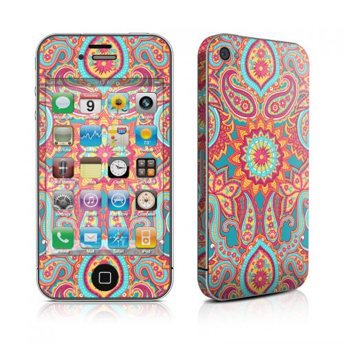 Carnival Paisley iPhone 4s Skin
