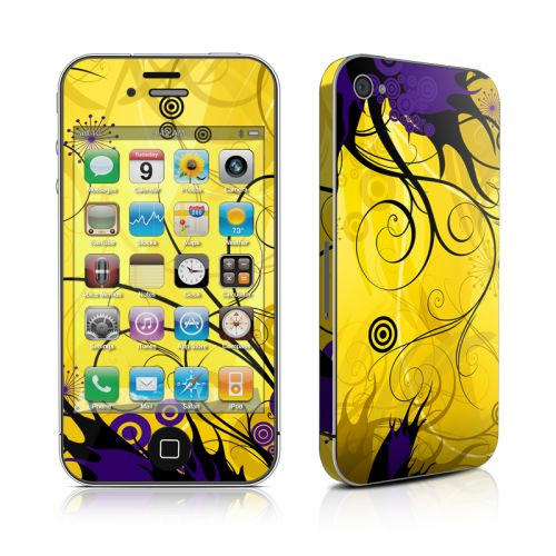 Chaotic Land iPhone 4s Skin