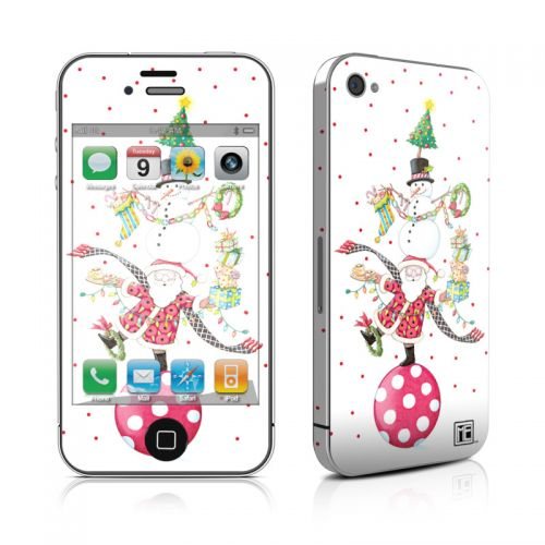 Christmas Circus iPhone 4s Skin