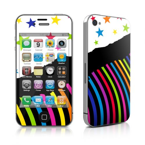 Color Wave iPhone 4s Skin