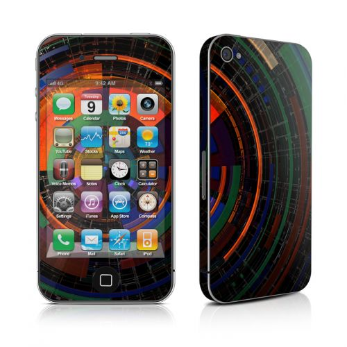 Color Wheel iPhone 4s Skin