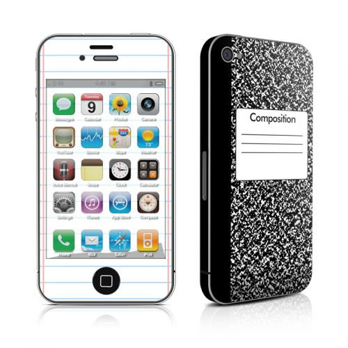 Composition Notebook iPhone 4s Skin