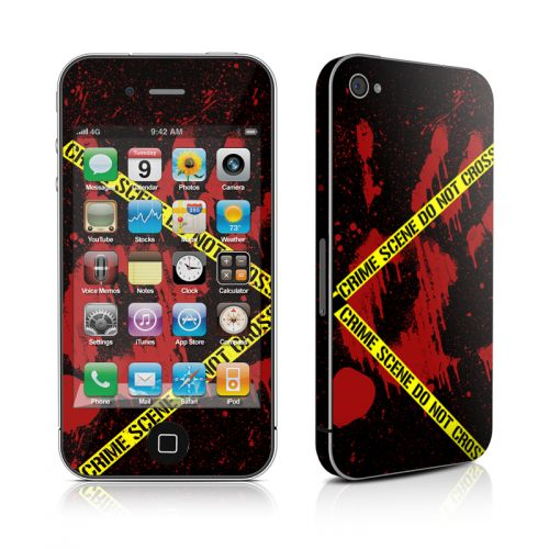 Crime Scene iPhone 4s Skin
