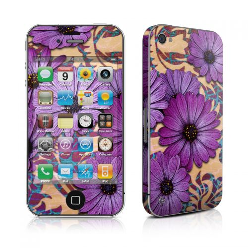 Daisy Damask iPhone 4s Skin
