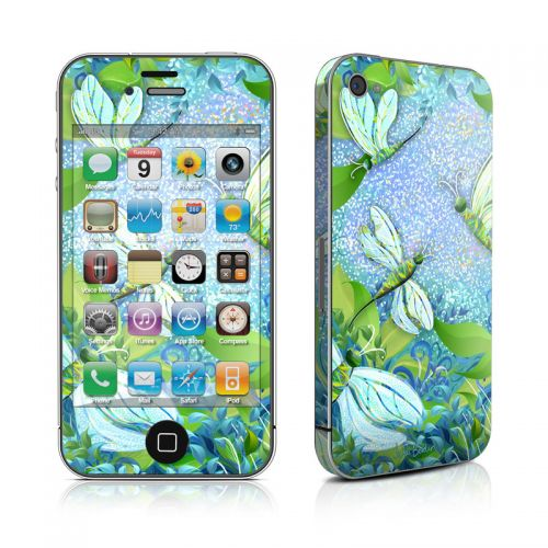 Dragonfly Fantasy iPhone 4s Skin