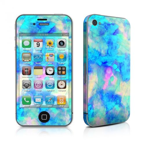 Electrify Ice Blue iPhone 4s Skin