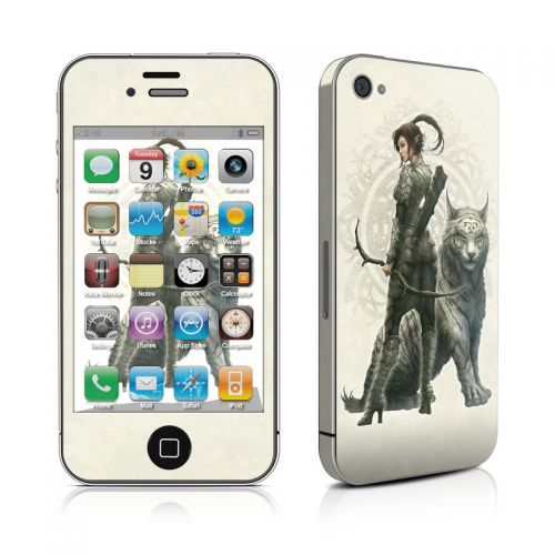 Half Elf Girl iPhone 4s Skin