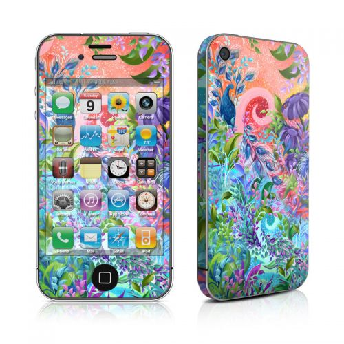 Fantasy Garden iPhone 4s Skin
