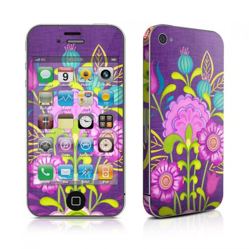 Floral Bouquet iPhone 4s Skin
