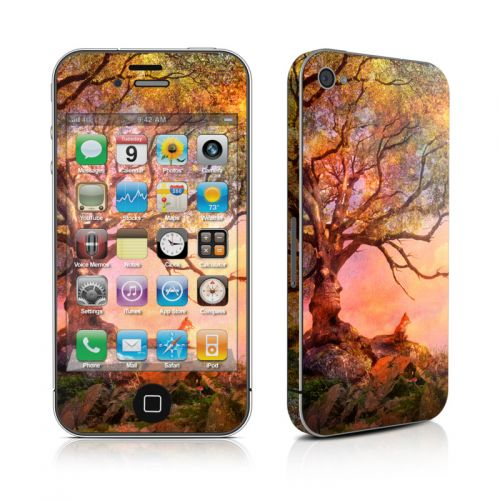 Fox Sunset iPhone 4s Skin