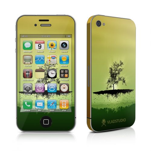 Flying Tree Amber iPhone 4s Skin