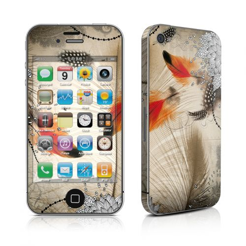 Feather Dance iPhone 4s Skin