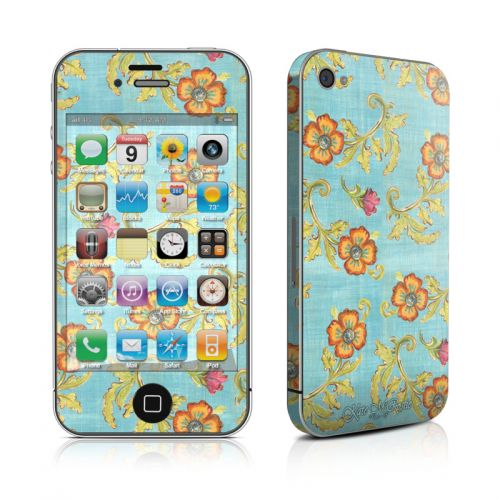 Garden Jewel iPhone 4s Skin